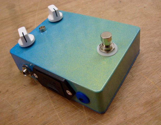 TTA Silicon Fuzz Effects Pedal, Scotland, UK