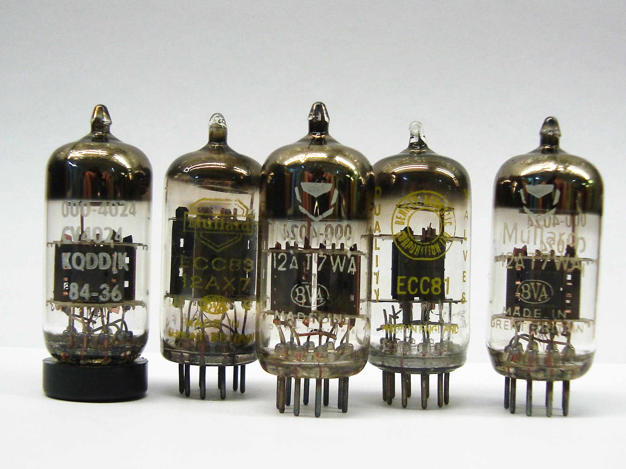 N.O.S Pre Amp Valves | Time Travel Audio, Vintage Audio Equipment ...