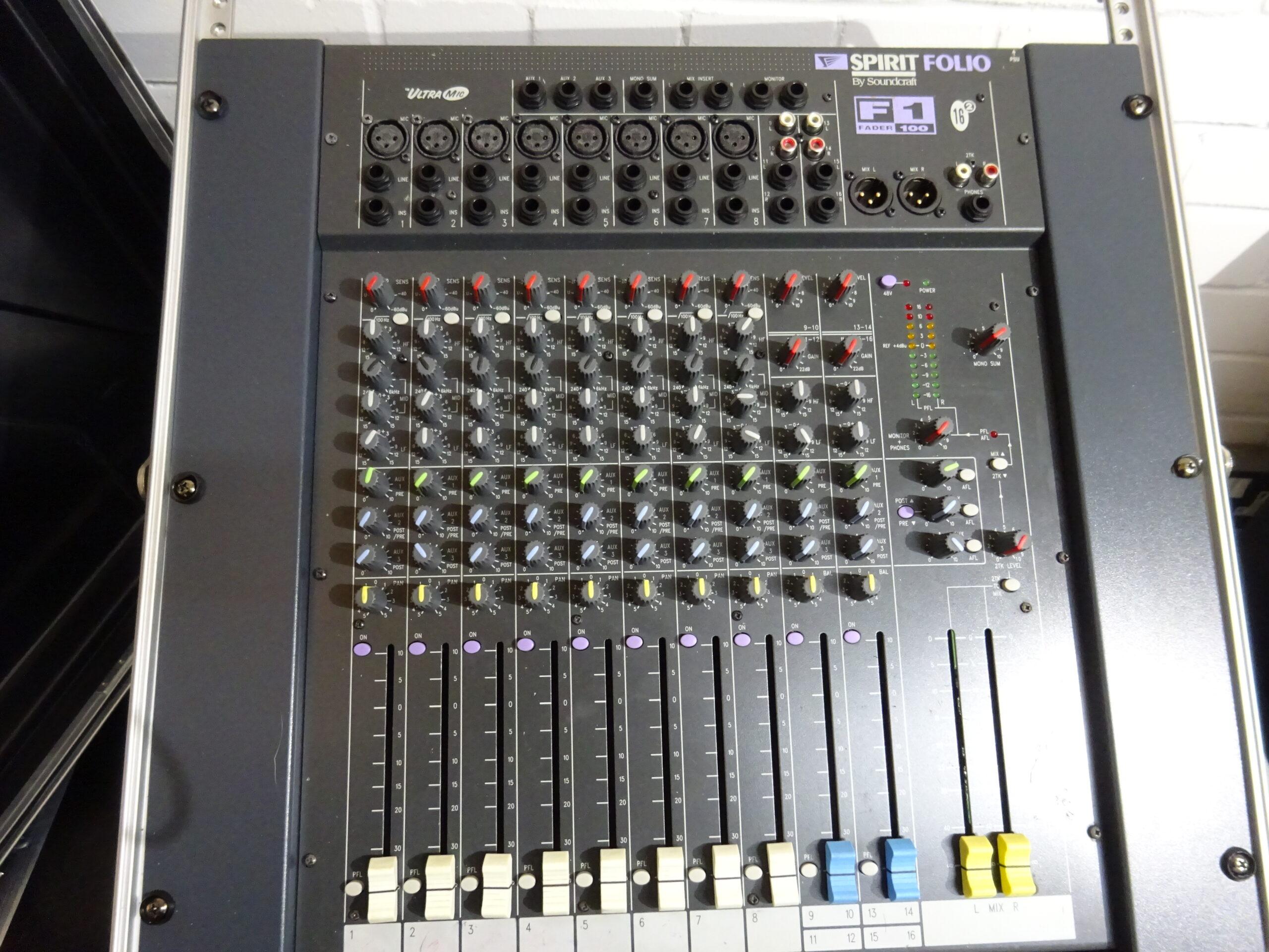 Desks/Mixers